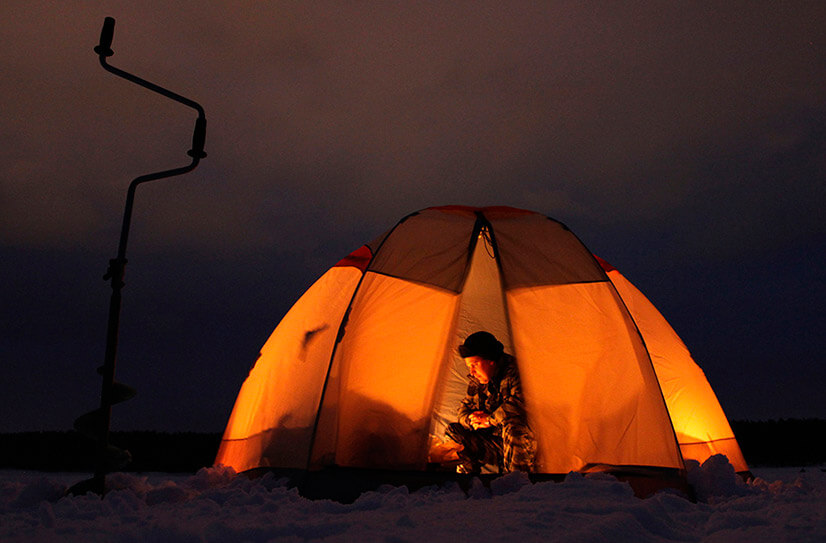 Выбор палаток для зимней рыбалки