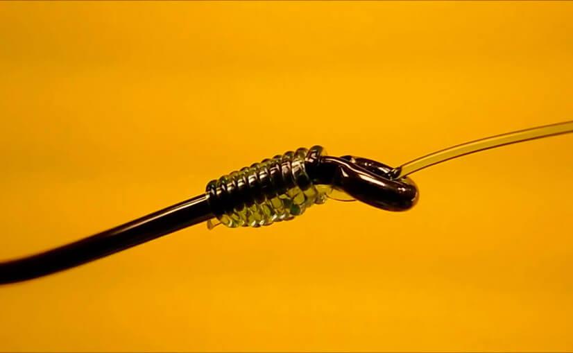 Как правильно привязать леску к крючку? Виды узлов и советы