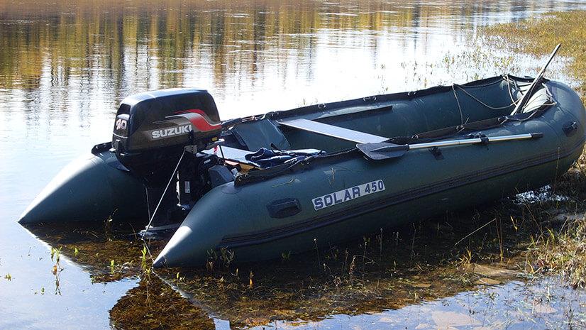 Выбор лодки ПВХ под мотор: конструкция, лучшие модели и отзывы
