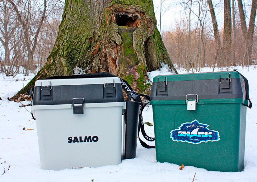 Какими бывают ящики для зимней рыбалки