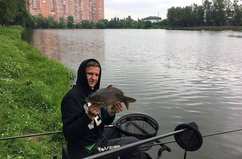 """Рыбалка на """"Белой даче"""" (Подмосковье)"""
