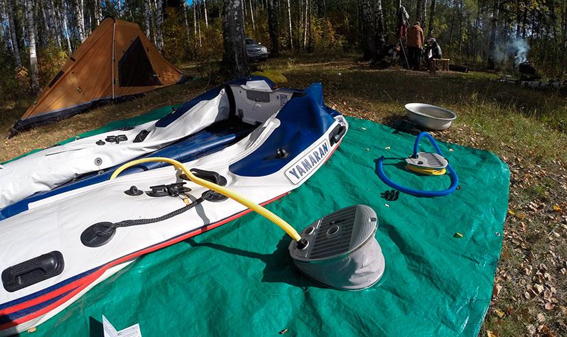 Насос для ПВХ лодки: виды, модели, цены