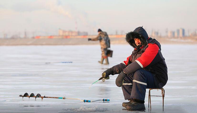 Правила поведения на льду для рыбаков