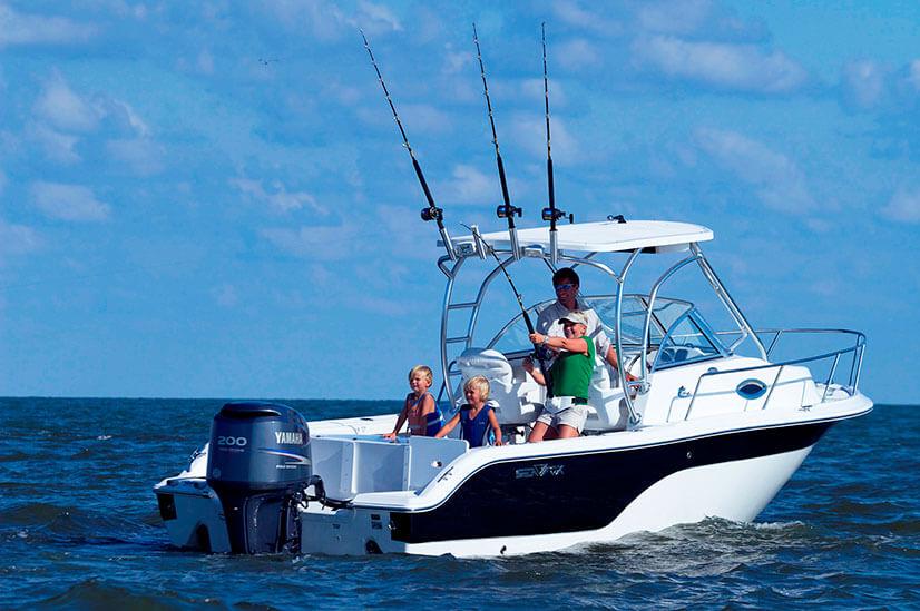 Права на управление маломерным судном. Информация для рыбаков