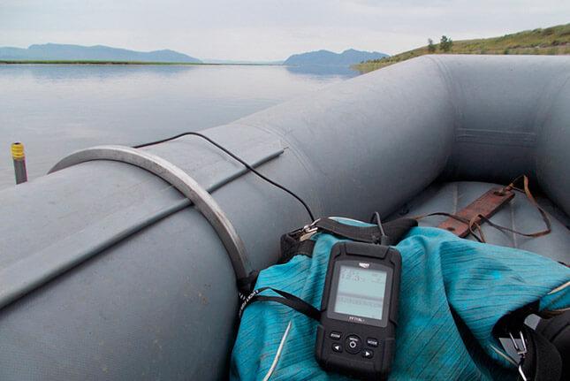 Эхолоты для рыбалки с GPS