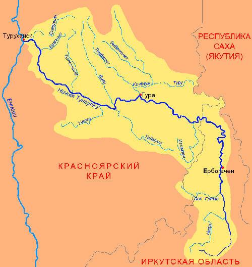 Нижняя Тунгуска
