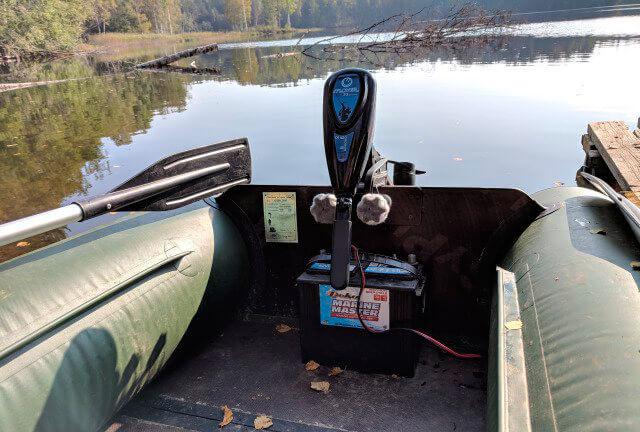 Выбор аккумулятора для лодки