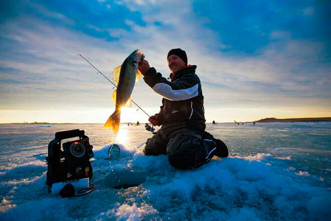 Что одеть зимой на рыбалку