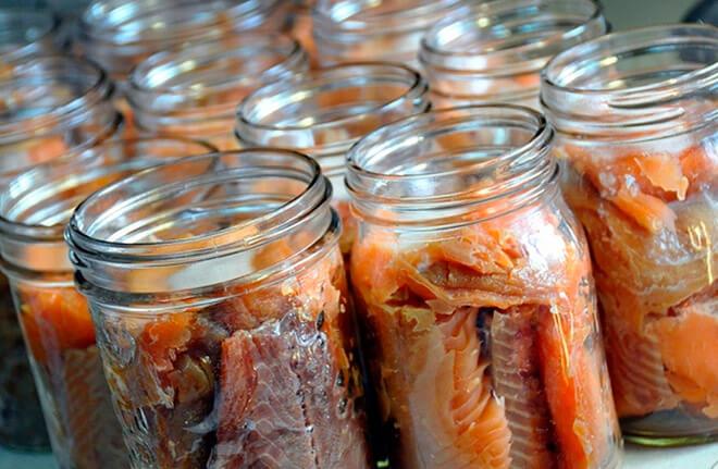 Консервирования рыбы в духовке