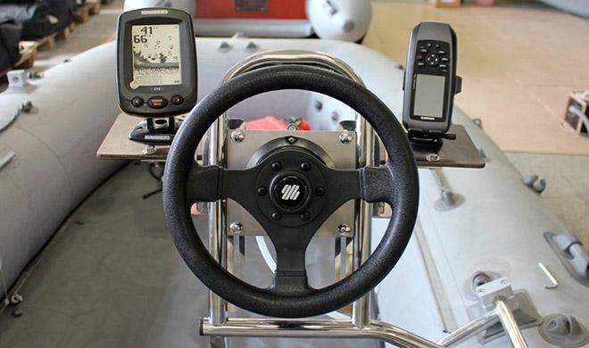 Как выбрать рулевую консоль для лодки ПВХ?